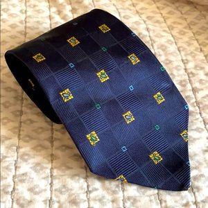 Brooksfield Men's Neck Tie Blue